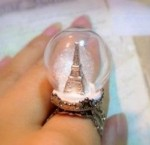 """Заготовка """"Стеклянный шар"""" с кольцом"""